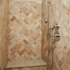 Lost Oasis - Bathroom - Natural Stone Shower